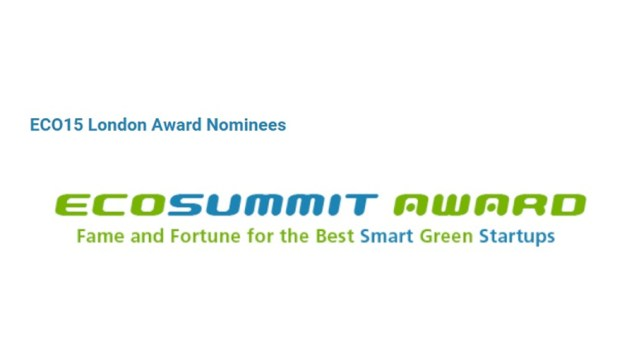 The Eco-friendly material award nominee