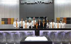 ELeather Exhibits at Aircraft Interiors Expo 2016, Singapore