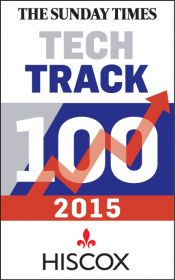 GREAT RECOGNITION IN THE SUNDAY TIMES 'TECH TRACK 100'