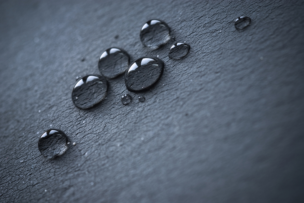 Water Droplets on ELeather