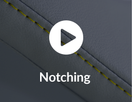 ELeather Notching Video