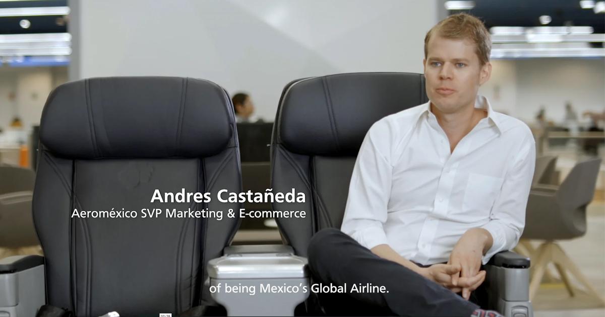 ELeather flies high with Aeromexico partnership