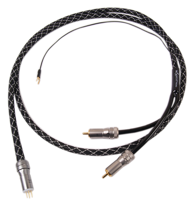 1877PHONO THE SPIRIT OFHC Copper Tonearm Cable DIN Male 5