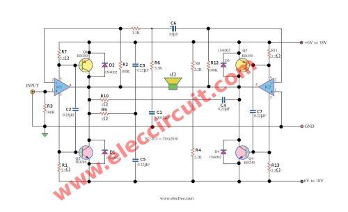 small resolution of schematic diagram of power amp super bridge 120w by