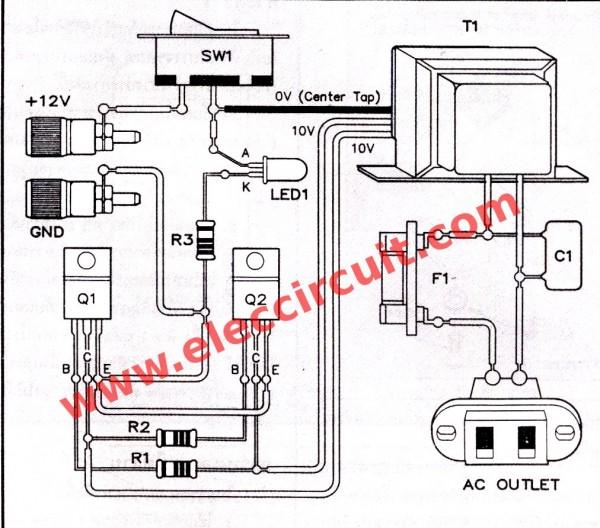 Hobby Electronics: Micro Inverter Circuits