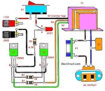 medium resolution of transistor wiring diagram