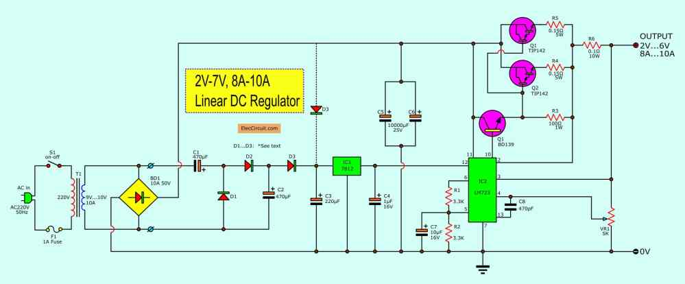 medium resolution of free circuit diagrams simple power supply with 2 transistors book simple power supply circuit diagram electronic circuit diagrams