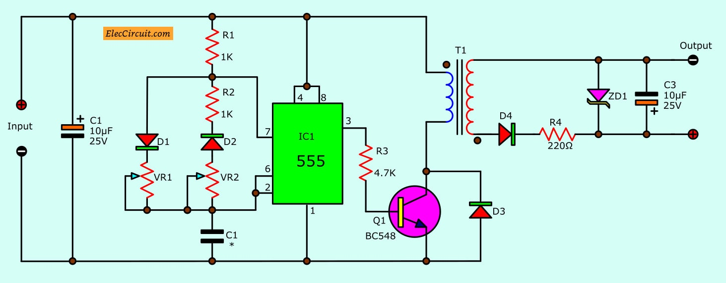 hight resolution of build a isolated dcdc converter circuit diagram electronic circuit dc dc converter circuits diagram electronic circuit diagrams