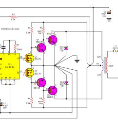 dc ac converter circuit diagram wiring diagram page circuit likewise dc to ac inverter circuit diagram on dc voltage [ 1349 x 895 Pixel ]
