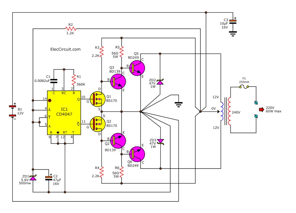 medium resolution of dc ac converter circuit diagram wiring diagram page circuit likewise dc to ac inverter circuit diagram on dc voltage