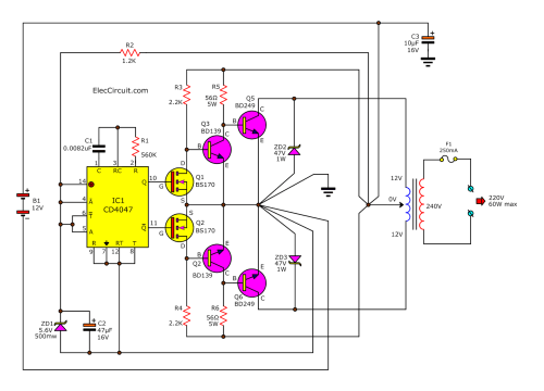 small resolution of dc ac converter circuit diagram wiring diagram page circuit likewise dc to ac inverter circuit diagram on dc voltage