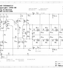 300w mosfet power amp ocl hifi class ab by k1530 j201 [ 1607 x 1206 Pixel ]