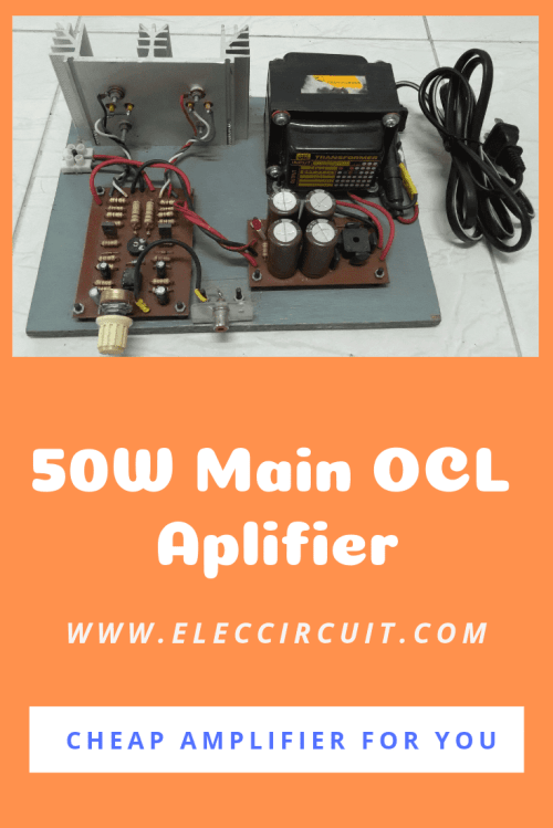 small resolution of 25w ocl power amplifier circuit using stk032