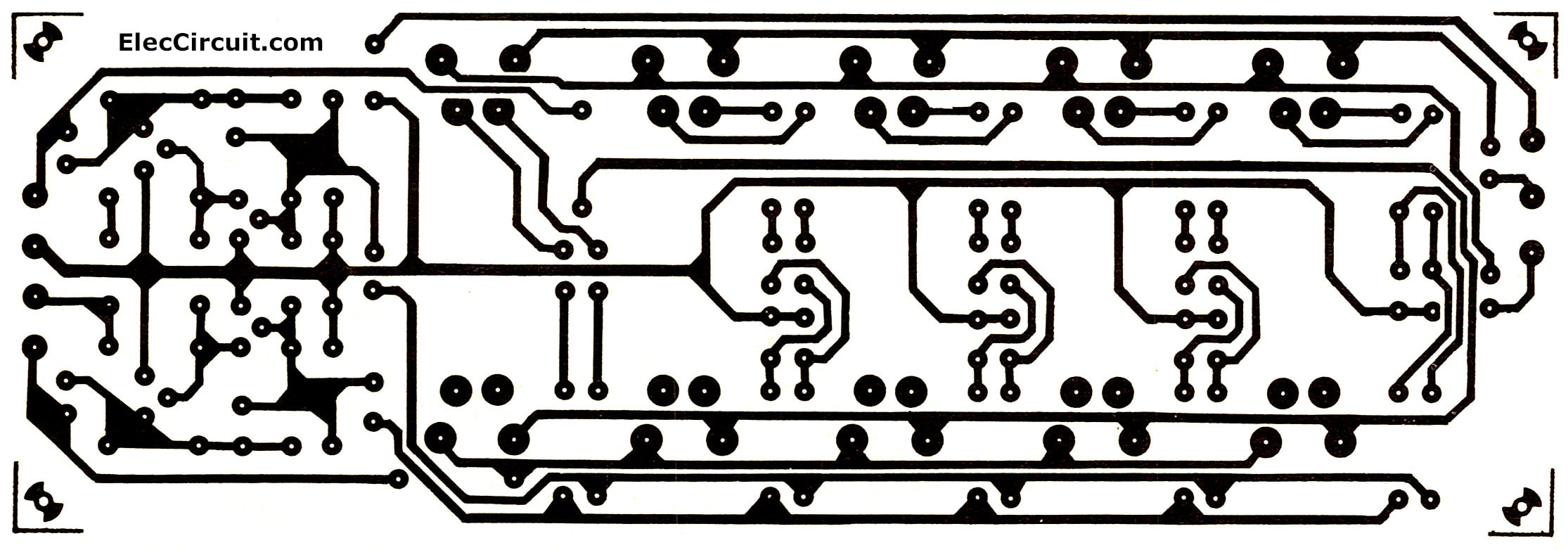 Graphic equalizer circuit using transistors