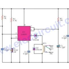 Hella Relay Wiring Diagram 2 Start Stop Inch Car Burglar Alarm Timer Delay Using Ne556 – Electronic Projects Circuits