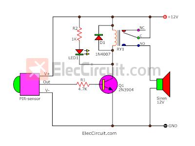 pir light switch wiring diagram 1984 porsche 944 radio pir. motion sensor alarm circuit