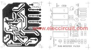 Cheap car subwoofer circuit