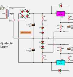 how to build 15 35 volt dc regulated power supply circuit diagram power wiring diagram for [ 2200 x 1153 Pixel ]