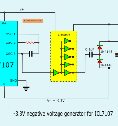 in normal it powers only a single positive voltage then we build a negative voltage generator circuit in figure  [ 1369 x 1041 Pixel ]