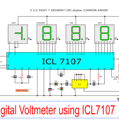 led battery voltmeter circuit schematic diagram wiring diagram today led battery wiring diagram [ 2409 x 1653 Pixel ]