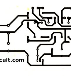 pcb layout of 0 60 volt dc variable  [ 2001 x 962 Pixel ]