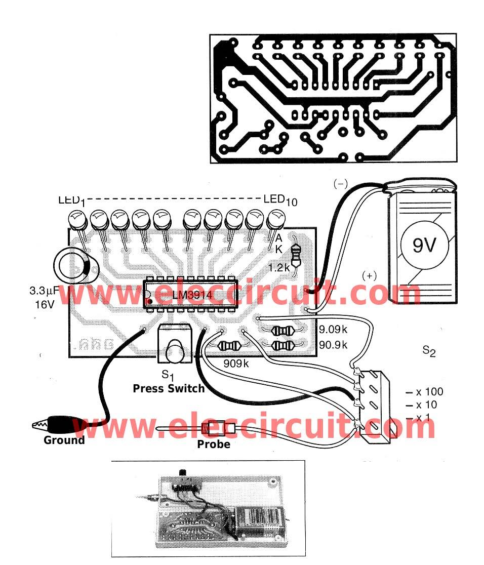 hight resolution of led display pin diagram