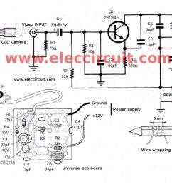 figure 5 the simple video vhf transmitter circuit [ 1024 x 804 Pixel ]