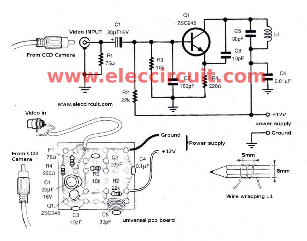 medium resolution of figure 5 the simple video vhf transmitter circuit