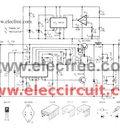 variable switch mode power supply circuit 0 50v at 5a eleccircuit com switching power supply circuit diagram quotes [ 1269 x 752 Pixel ]