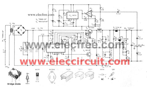 small resolution of variable switch mode power supply 0 50v 5a