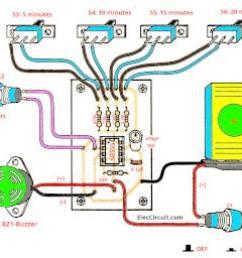 electronic timer circuit diagram [ 1288 x 1068 Pixel ]