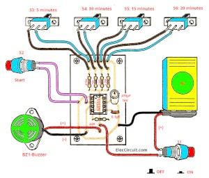 medium resolution of electronic timer circuit diagram