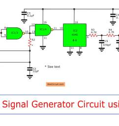 figure 1 the circuit diagram of simple if signal frequency generator using cmos ic [ 1500 x 741 Pixel ]