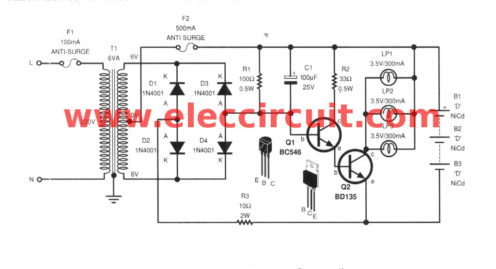 Light Wiring Diagram Additionally Emergency Light Circuit Diagram
