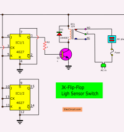 the circuit that use experiments is shown in figure 2 is using jk ff act as the t ff try to assemble on the breadboard to experiments for the photo  [ 1970 x 1136 Pixel ]