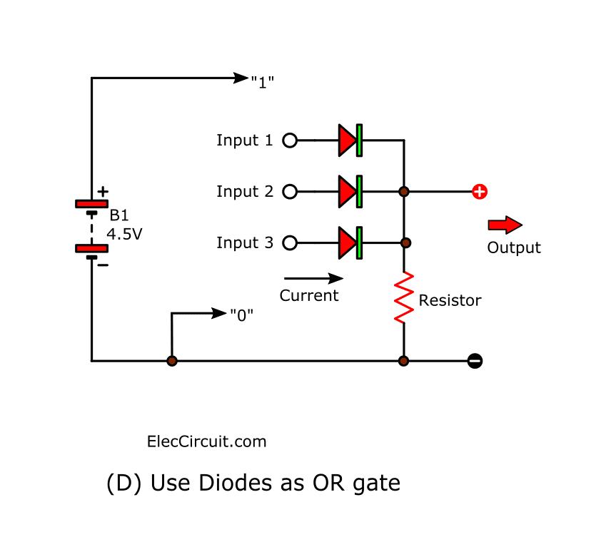 Diode Resistor Or Gate