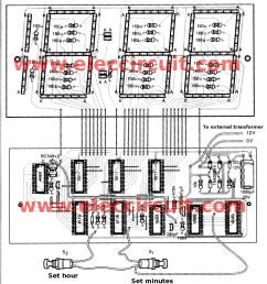 led clock circuit diagram wiring diagrams wni led clock circuit diagram big digital clock circuit without [ 993 x 1077 Pixel ]