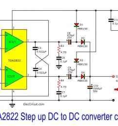 simple dc to dc boost up circuit 2 simple step up dc to dc verter [ 1992 x 1162 Pixel ]