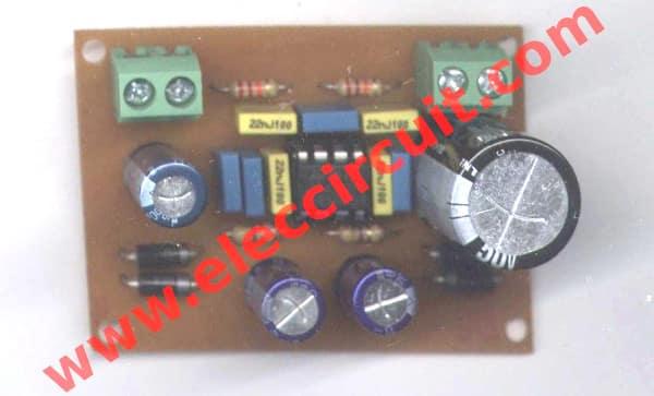 Simple Temperature To Voltage Converter Circuit Eleccircuit