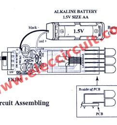 led flashlight wiring diagram schema diagram databasefigure 1 simple high power led flashlights the circuit diagram [ 1624 x 992 Pixel ]