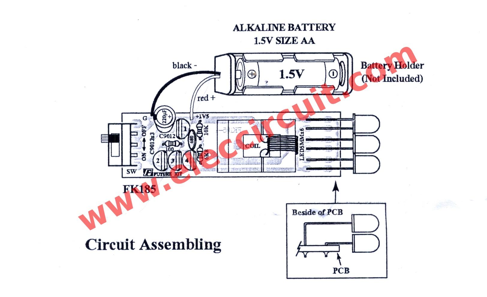 hight resolution of led flashlight wiring diagram schema diagram databasefigure 1 simple high power led flashlights the circuit diagram