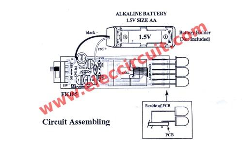 small resolution of led flashlight wiring diagram schema diagram databasefigure 1 simple high power led flashlights the circuit diagram