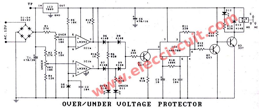 under voltage circuit