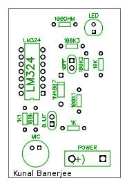 Sound detector using LM324 | ElecCircuit