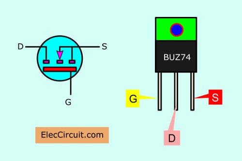 12v To 5v Voltage Regulator15a Using 7805 Tip41 Eleccircuit