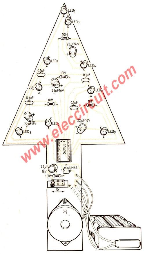 medium resolution of christmas tree led wiring schematic data wiring diagram christmas led circuit diagram wiring diagram centre christmas