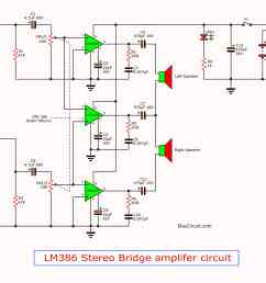 lm386 amplifier stereo 2 watts tda2050 amplifier circuit diagrams  [ 2297 x 1722 Pixel ]