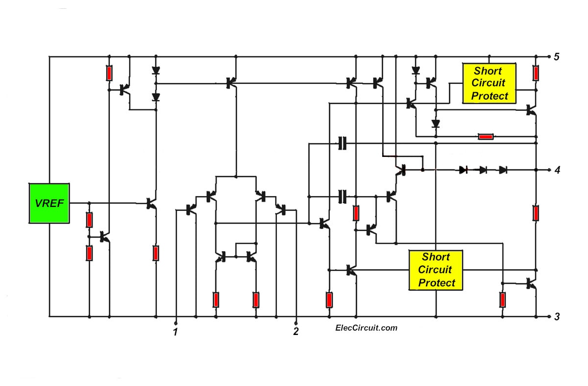 Power Audio Circuits Datasheetcatalog Lm386 Schematic