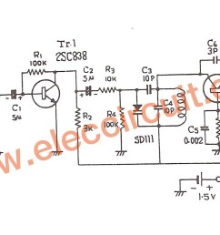 figure 1 fm transmitter schematic transistor wiring diagram today 1 5v fm transmitter circuit 88 [ 1647 x 907 Pixel ]