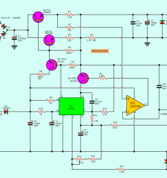 power supply circuitscircuit schematics diagrams and projects 30v variable power supply circuit diagram project new wiring [ 2734 x 1678 Pixel ]